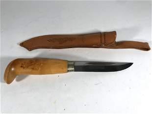 Vintage Finland Finish II Sakki Fixed Blade Knife with