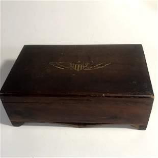 WW2 Flight Pilot's Box Rare