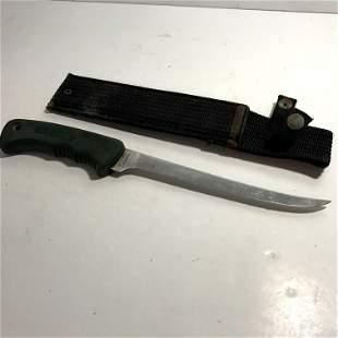 Vintage Schrade Old Timer USA 1470T Fillet Knife