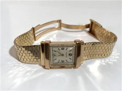 Vintage 14k Gold Tiffany working Watch Awsome!!!