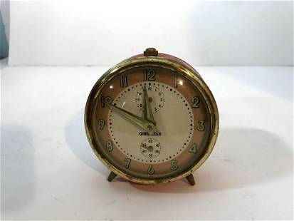 Vintage Metal Gibraltar Clock not working
