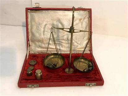 Vintage Apothecary Drug Scale
