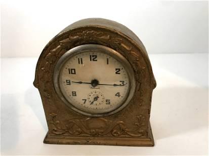 Vintage Gilbert Cast Iron Alarm Clock