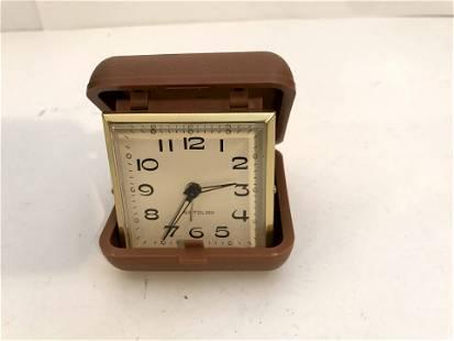 Vintage travel alarm clock Westclox