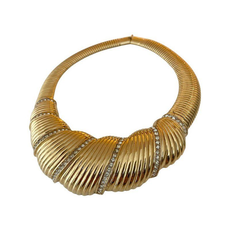 VINTAGE NINA RICCI HAUTE COUTURE RUNWAY GRAND NECKLACE
