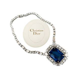 MUSEUM QUALITY CHRISTIAN DIOR LOOK OF FINE NECKLACE