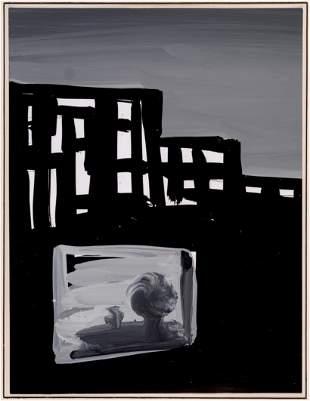 Antonio Saura. 1984