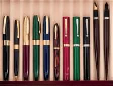 Eleven Sheaffer writing instruments