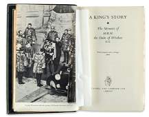 A King´s Story. Memoirs of the Duke of Windsor