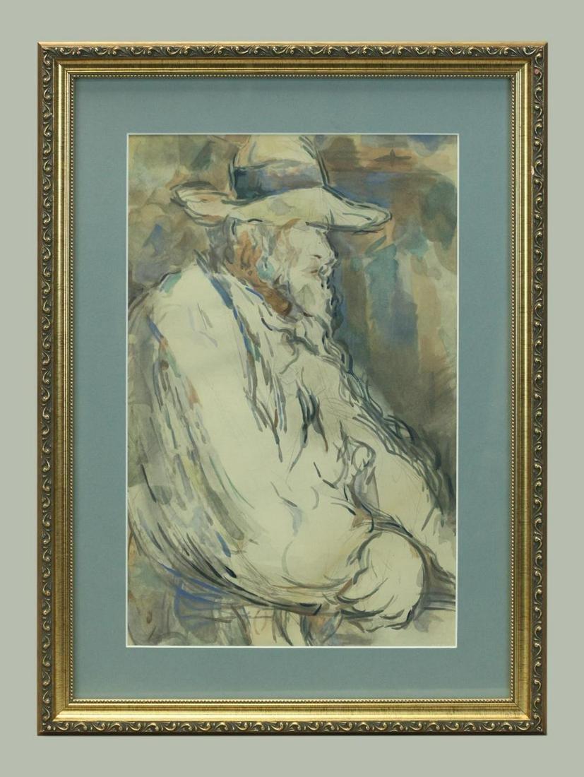 Editions des quatre Chemins, Paris, Watercolor