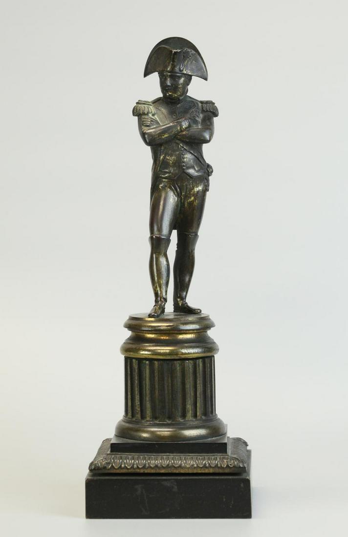 Napoleon, Bronze statue, 19th century