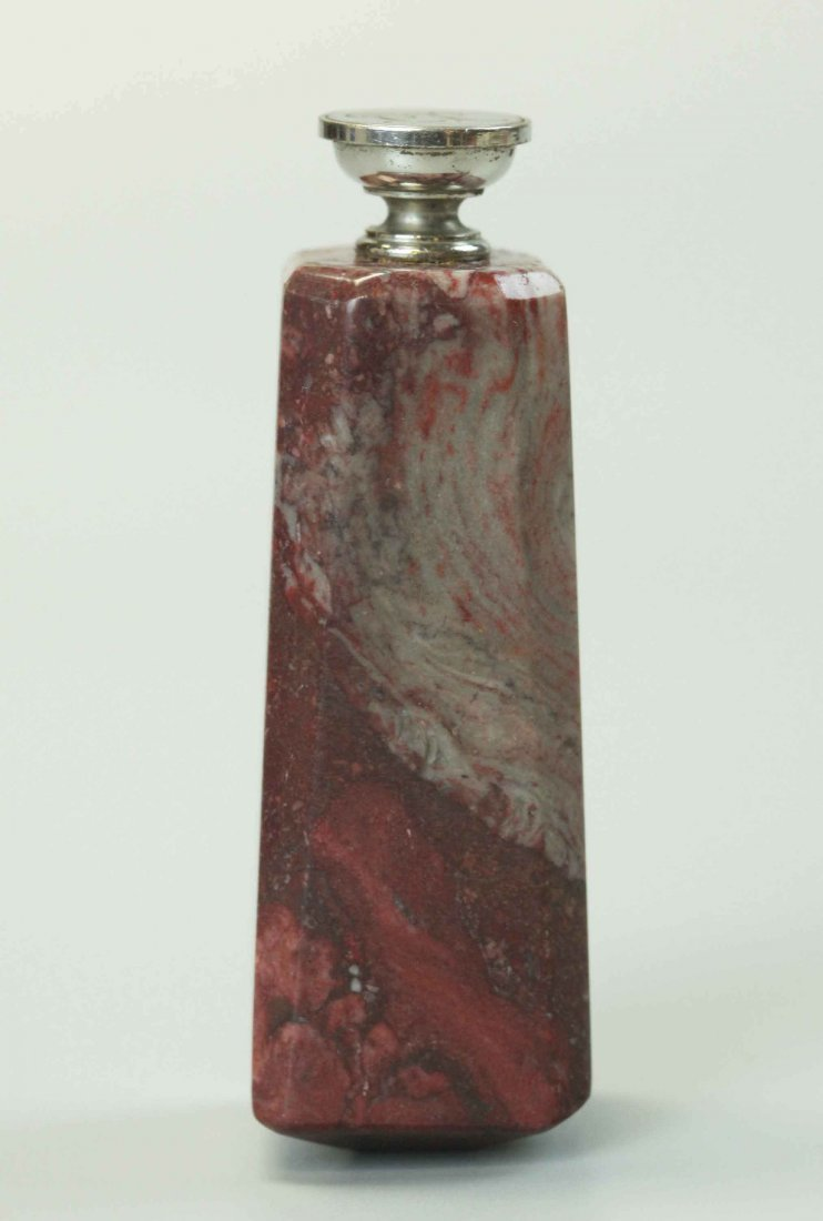 Seal Stamp, bronze and stone handle