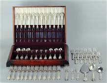 Wallace Grande Baroque sterling silver flatware set