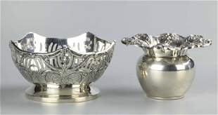 Two sterling silver pieces