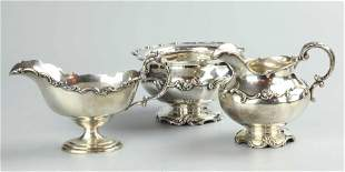 Three Gorham sterling silver pieces
