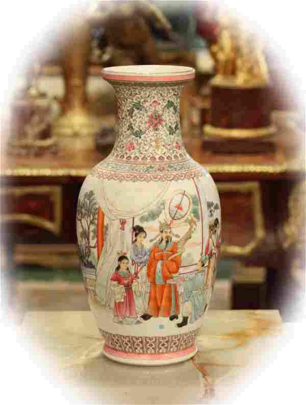 Antique Chinese vase, very good condition, marked