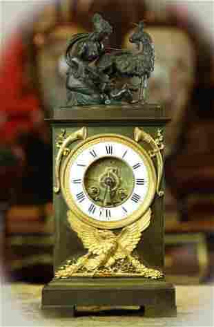 18th Century Skeleton clock