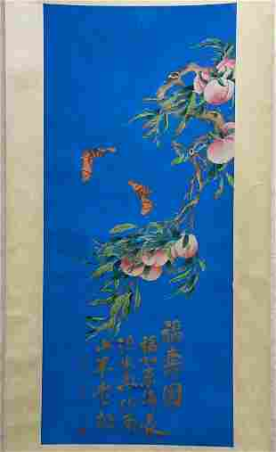 chinese painting by song meiling