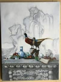 painting by LengJun