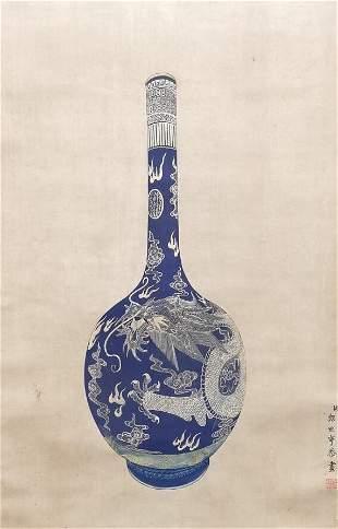 chinese lang shining's painting