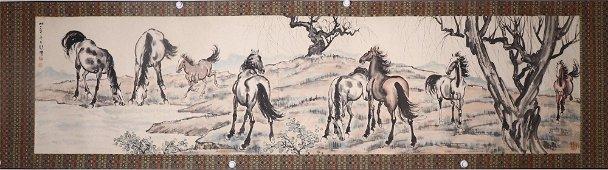 chinese xu beihong's painting