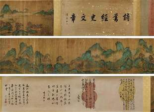 Pavilions by Tang Yin