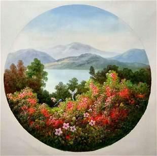 Lin Dachuan's painting