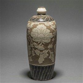 chinese cizhou kiln porcelain meiping