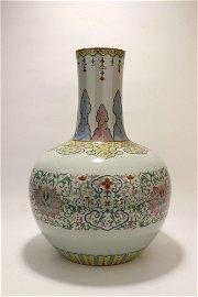 chinese doucai porcelain globular vase