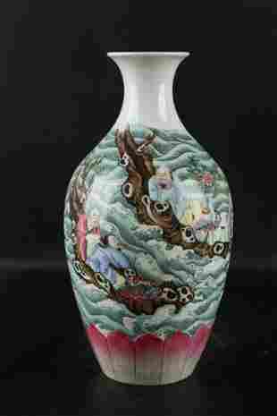 Chinese Qing Dynasty Yongzheng Famille Rose Porcelain
