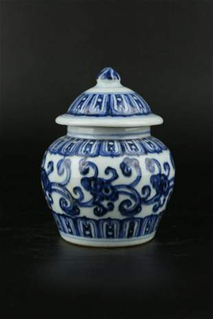 Chinese Ming Dynasty Xuande Blue And White Porcelain