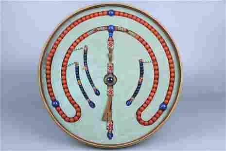 Nanjiang Carnelian Court Beads