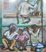 Rosalie Dalsheimer Berkowitz, Texas artist, oil