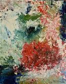 Hans Hofmann, oil on masonite, signed