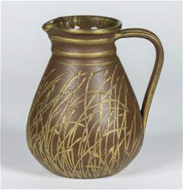 Early Rookwood Art Pottery Milk Pitcher