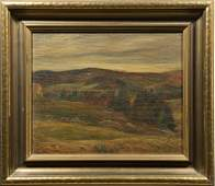 Louis Muhlstock Canadian Impressionist Fall Mountain