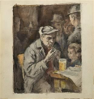 Ernst Oppler German Impressionist painter listed
