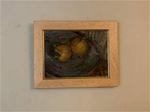 Antique Impressionist Painting George Luks Ashcan