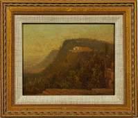Catskill Mountain House NY Hudson River School Painting