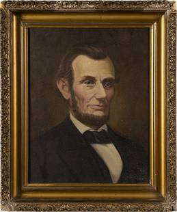 Abraham Lincoln American Presidential Portrait Painting