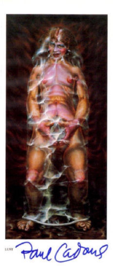 Artist PAUL CADMUS - Book Image of His Work, Signed