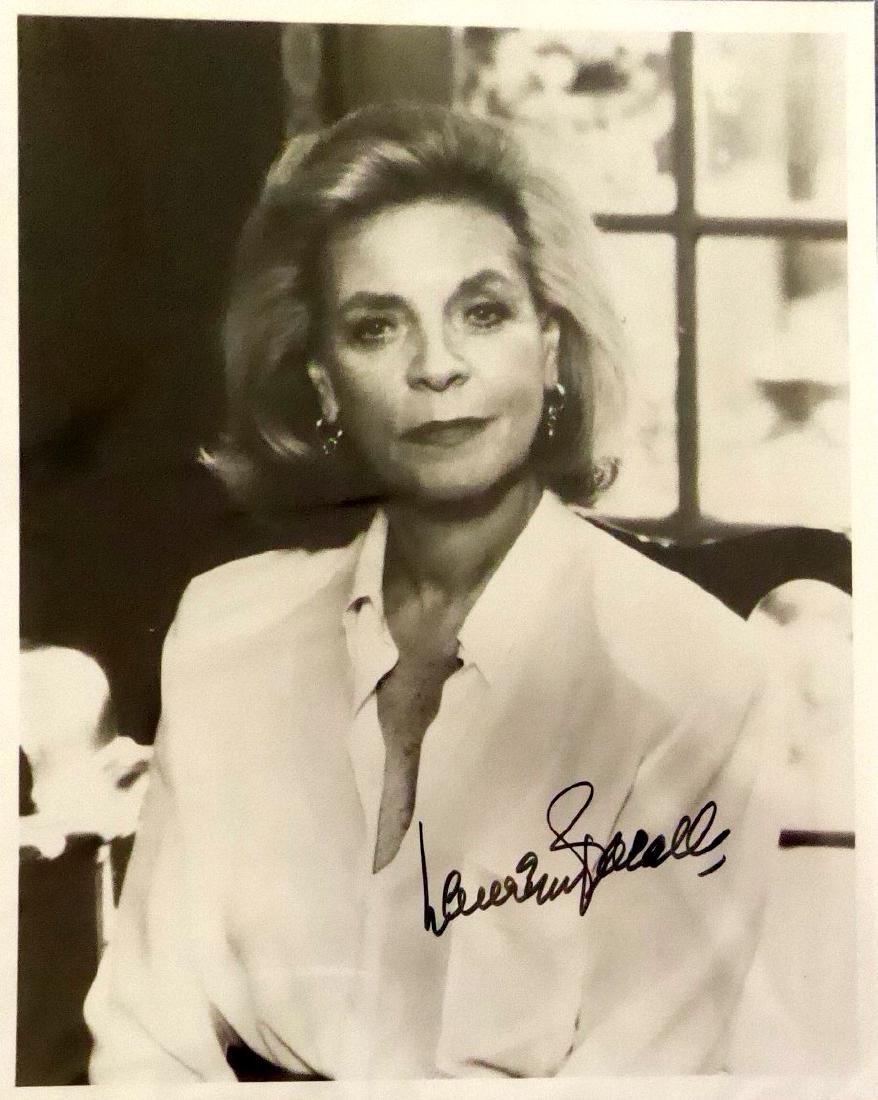 Actress LAUREN BACAL - Photo Signed