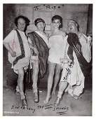 Comic Trio THE THREE STOOGES - Photo Signed