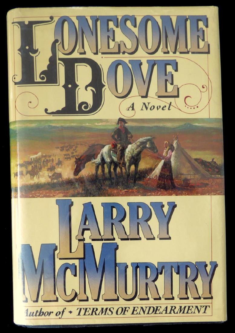 mcmurtry lonesome  Author LARRY McMURTRY -