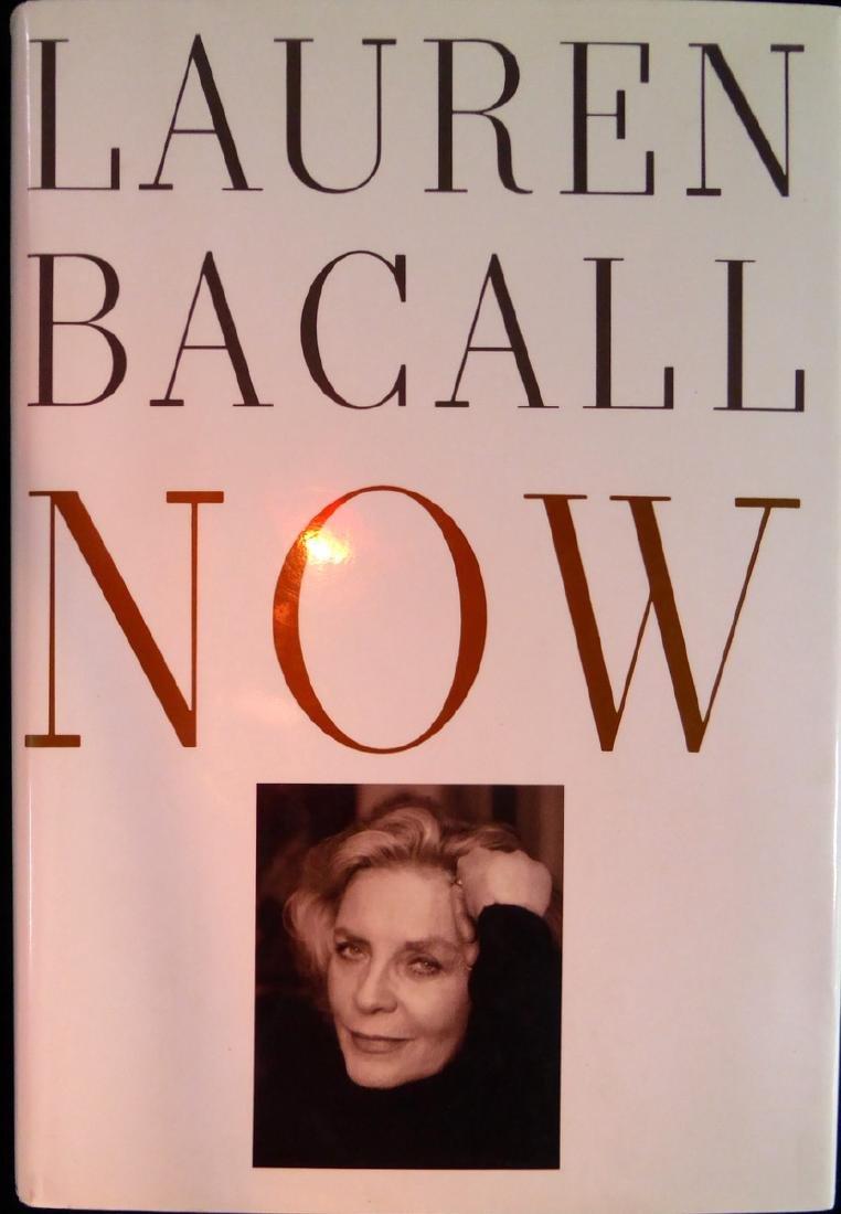 "Actress LAUREN BACAL - Her Book ""Now"", Signed"