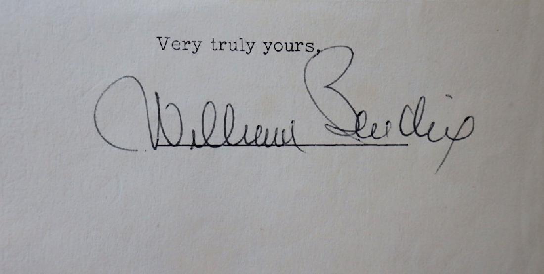 Actor WILLIAM BENDIX - Cut Signature
