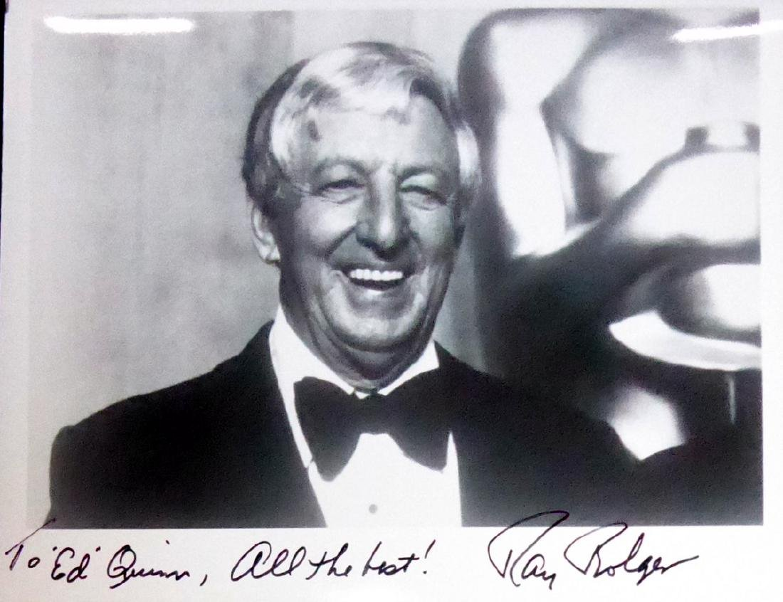 Actor, Dancer RAY BOLGER - Photo Signed