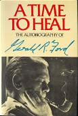GERALD R FORD  His Book Signed 1st Ed Bookplate
