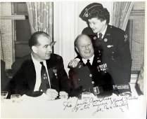 Wisc Senator JOE McCARTHY  Photo Signed
