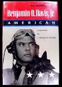 Pilot, Gen BENJAMIN O DAVIS - His Book Signed